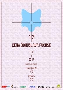XII. Cena Bohuslava Fuchse - pozvánka na vyhlášení