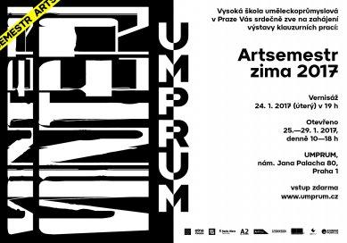 ARTSEMESTR zima 2017 - pozvánka na výstavu