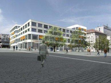 Palác Zdar se začne v centru Ústí stavět na přelomu roku - foto: Jan Jehlík Architektonická Kancelář