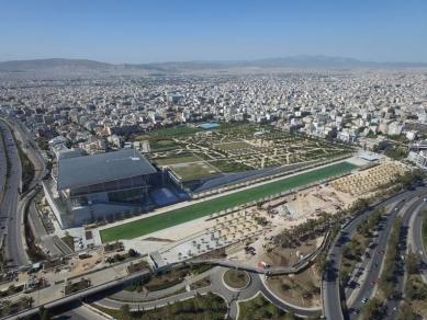 Kulturní centrum Stavrose Niarchose v Athénách od Renzo Piana - foto: Courtesy of SNFCC