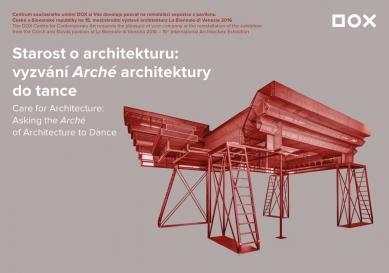 Starost o architekturu - reinstalaci expozice v DOXu