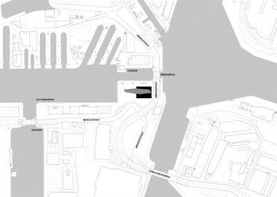 Diamantová loď v Antverpách je majákem pro celý svět - Situace