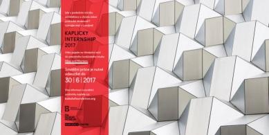 Kaplicky Internship - vyhlášení 3. ročníku studentské soutěže