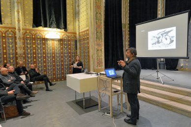Rozhovor se Smiljanem Radićem - foto: Petr Šmídek, 2017