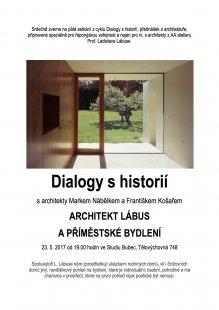 Dialogy s historií: přednáška M.Nábělka a F.Košaře v Bubci