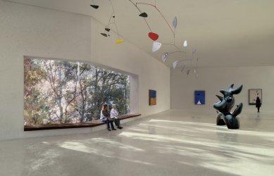 Projekt rozšíření nadace Beyeler od Petera Zumthora - foto: Atelier Peter Zumthor & Partner