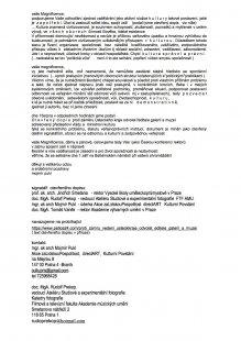 Otevřený dopis k odvolání pěti ředitelů ústeckých galerií