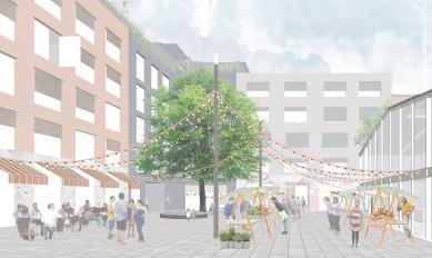 Architekti navrhují zbourat opavskou Slezanku a postavit tržnici - foto: re:architekti