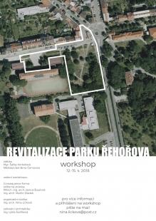 Revitalizace parku Řehořova - pozvánka na workshop