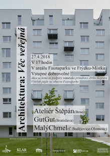 Architektura : Věc veřejná - přednáškový večer ve Frýdku Místku