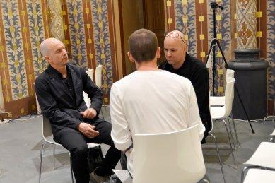 Rozhovor s Bolle Tham a Martin Videgård  - foto: Filip Šenk, 2018