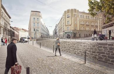 Seifertova ulice pravděpodobně změní podobu - Chlumova návrh - foto: edit!