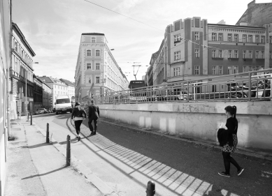Seifertova ulice pravděpodobně změní podobu - Chlumova původní stav - foto: edit!