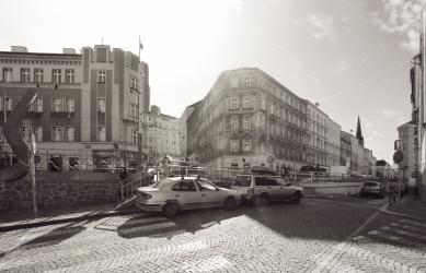Seifertova ulice pravděpodobně změní podobu - Lipanská původní stav - foto: edit!
