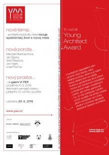 Young Architect Award 2018 - soutěže pro studenty a mladé architekty do 33 let