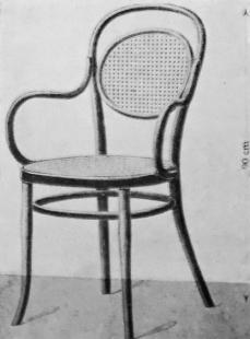 Le Corbusier : Rozhodná chvíle architektury - Židle z ohýbaného dřeva firmy Thonet v Praze