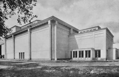 Le Corbusier : Rozhodná chvíle architektury - A. Perret : Divadlo výstavy v Paříži, 1925