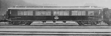 Le Corbusier : Rozhodná chvíle architektury - Lůžkový vůz Paris – Orleans, Model 1914, Ringhofferovy závody akc. spol. V Praze