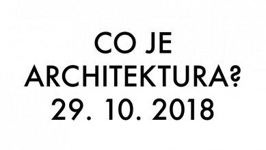 Co je architektura? přednáška Lukáše Žďárského na FSv ČVUT