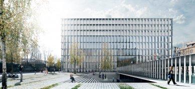 November Talks 2018 : Vasa J. Perović - NUK 2, Národní a univerzitní knihovna 2, Lublaň, soutěž 2012, 1. cena - foto: Bevk Perovic Arhitekti