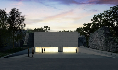 November Talks 2018 : Vasa J. Perović - Soutěž na novou galerii a kasematy, Vídeň, 1. cena, 2016 - foto: Bevk Perovic Arhitekti