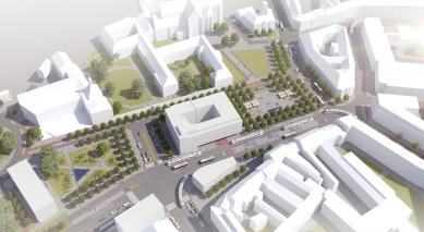 Budoucnost Mendlova náměstí - vernisáž výstavy - 2. místo - foto: RAW