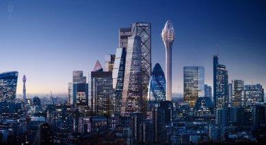 V Londýně možná vyroste nový mrakodrap Tulipán