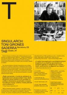 Singularch: Toni Gironès Saderra a TAB