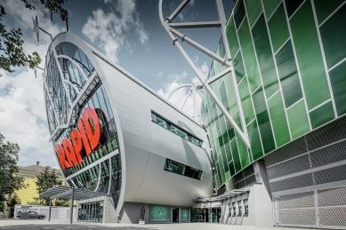 Allianz Stadion Vídeň - foto: Croce & WIR
