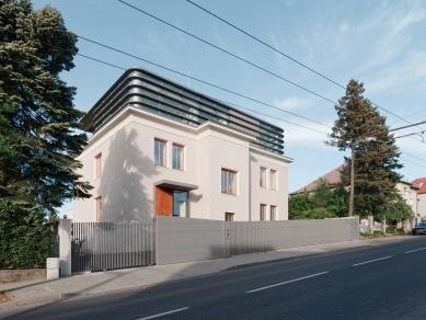 Přestavba bratislavské městské vily spojila nové s tradičním