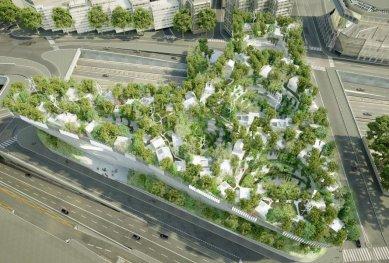 Architekt nejlepšího připravovaného projektu světa Sou Fujimoto soutěží o možnost stavět v Praze - Pařížský projekt Tisíc stromů od japonského architekta Sou Fujimota