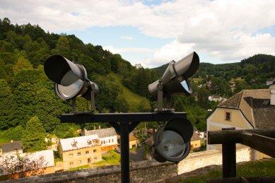 Slavnostní osvětlení hradu a zámku Bečovnad Teplou - foto: ETNA spol. s r. o.