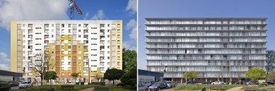 Vítězem letošní Ceny Miese van der Rohe se stala přestavba bytového domu vBordeaux - foto: Philippe Ruault
