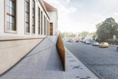 Kunsthalle Praha se otevře za dva roky, už připravuje program - Vizualizace - foto: Radek Brunecký