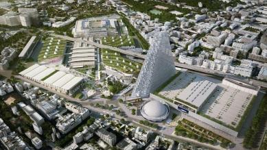 Paříž bude mít novou dominantu, trojúhelníkový mrakodrap