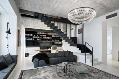 Velkorysý mezonetový byt v centru Prahy
