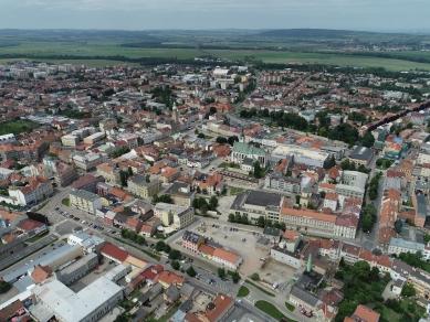 Prostějov řeší dostavbu centra pomocí urbanistické soutěže