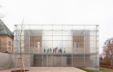 Finalisté ceny Architekt roku 2019 - Mateřská škola Nová Ruda, Vratislavice nad Nisou, 2018 - foto: Alexandra Timpau / www.alexshootsbuildings.com