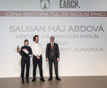 Soutěž Young Architect Award 2019 zná své vítěze - Cena Rektora TUL za školní práci