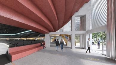 Architektonickou soutěž na arénu v Jihlavě vyhrál Josef Chybík - foto: CHYBIK+KRISTOF ASSOCIATED ARCHITECTS s. r. o.