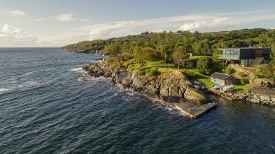 Villa Melstokke, ostrov Karmøy - Návrh soukromého domu na norském ostrově Karmøy utvářela příroda Boknafjordu a okolí. - foto: Sindre Ellingsen, Sandnes (Norsko)