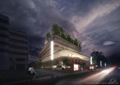 Parkovací dům v Ostravě bude podle návrhu firmy PROJEKTSTUDIO - foto: PROJEKTSTUDIO EUCZ