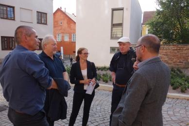 Petr Lešek vs. městská architektka Zdeňka Vydrová