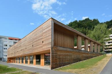 Na východ od ráje - současná vorarlberská architektura - Mateřská škola Klausmühle v Lochau, marte.marte 2013 - foto: Petr Šmídek, 2015