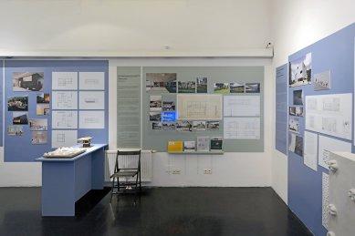 Mezigenerační dialog vorarlberských architektů - výstava v AzW - foto: Petr Šmídek, 2020