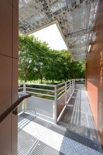 KOMA MODULAR rozšířila čtyřhvězdičkový hotel v Paříži pomocí velkoprostorových modulů - foto: Alexandr Hudecek