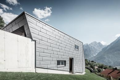 Dům jako vysokohorské zrcadlo  - foto: Croce & WIR