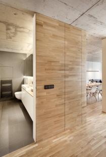 Byt K Brno – symfonie dřeva a betonu vnovém bytovém komplexu