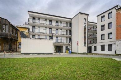 Ytong. Ytong. Ytong… v polyfunkčním domě Tatra Centrum v centru Martina - foto: Roman Knotek