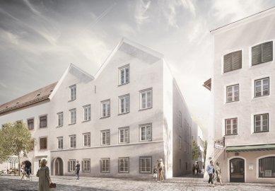 Z rodného domu Hitlera v Rakousku zmizí fasády pozměněné nacisty - foto: marte.marte architekten